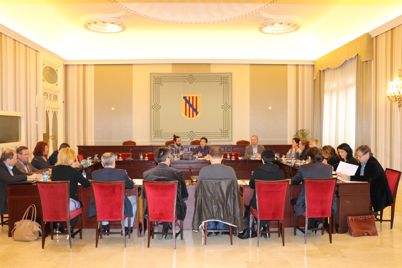 Reunió de la Sessió de la Comissió General de Consells Insulars al Parlament