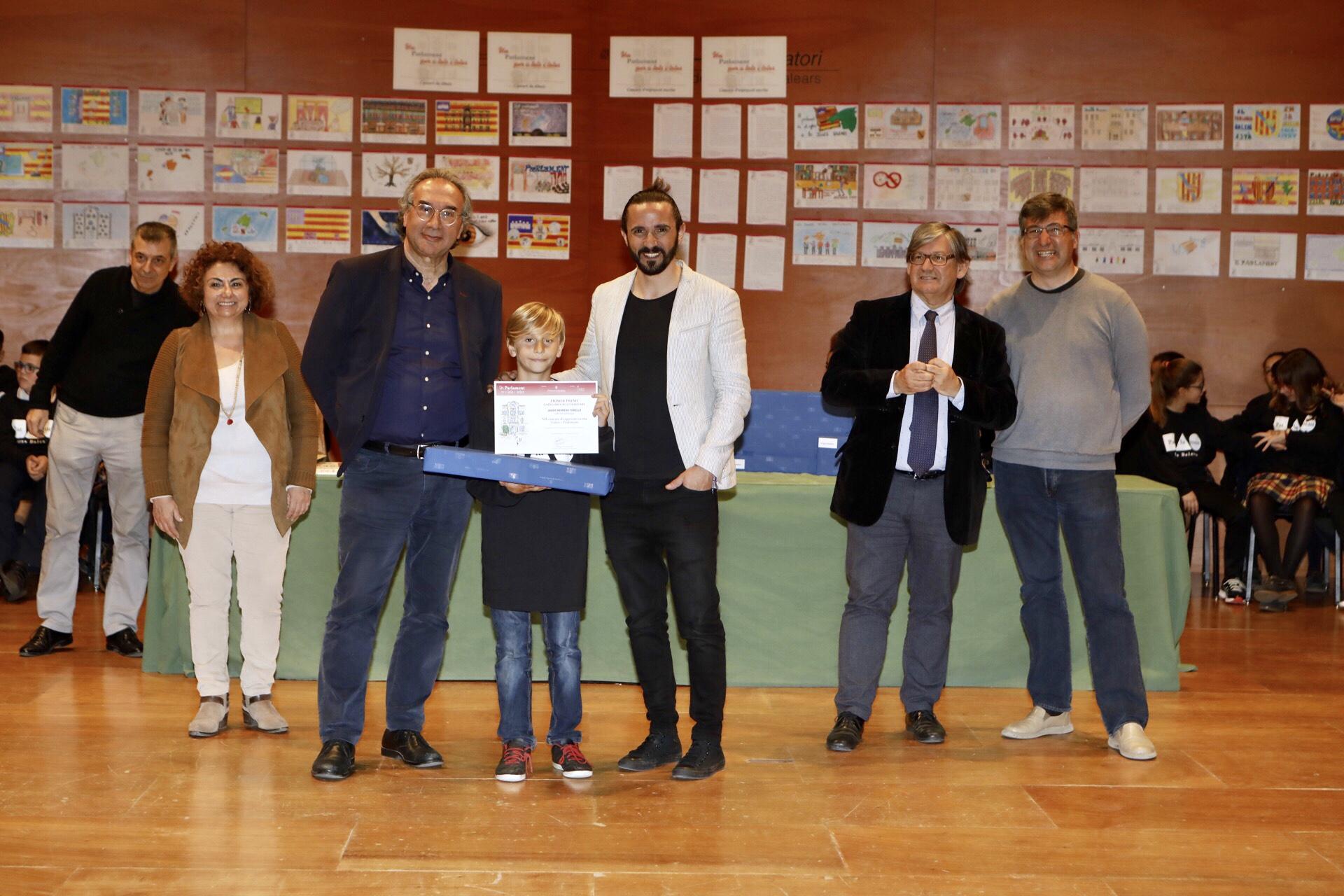 Javier Herrero Torelló, del CEIP Port de Pollença, és el guanyador de redacció, categoria 'Illes Balears'.