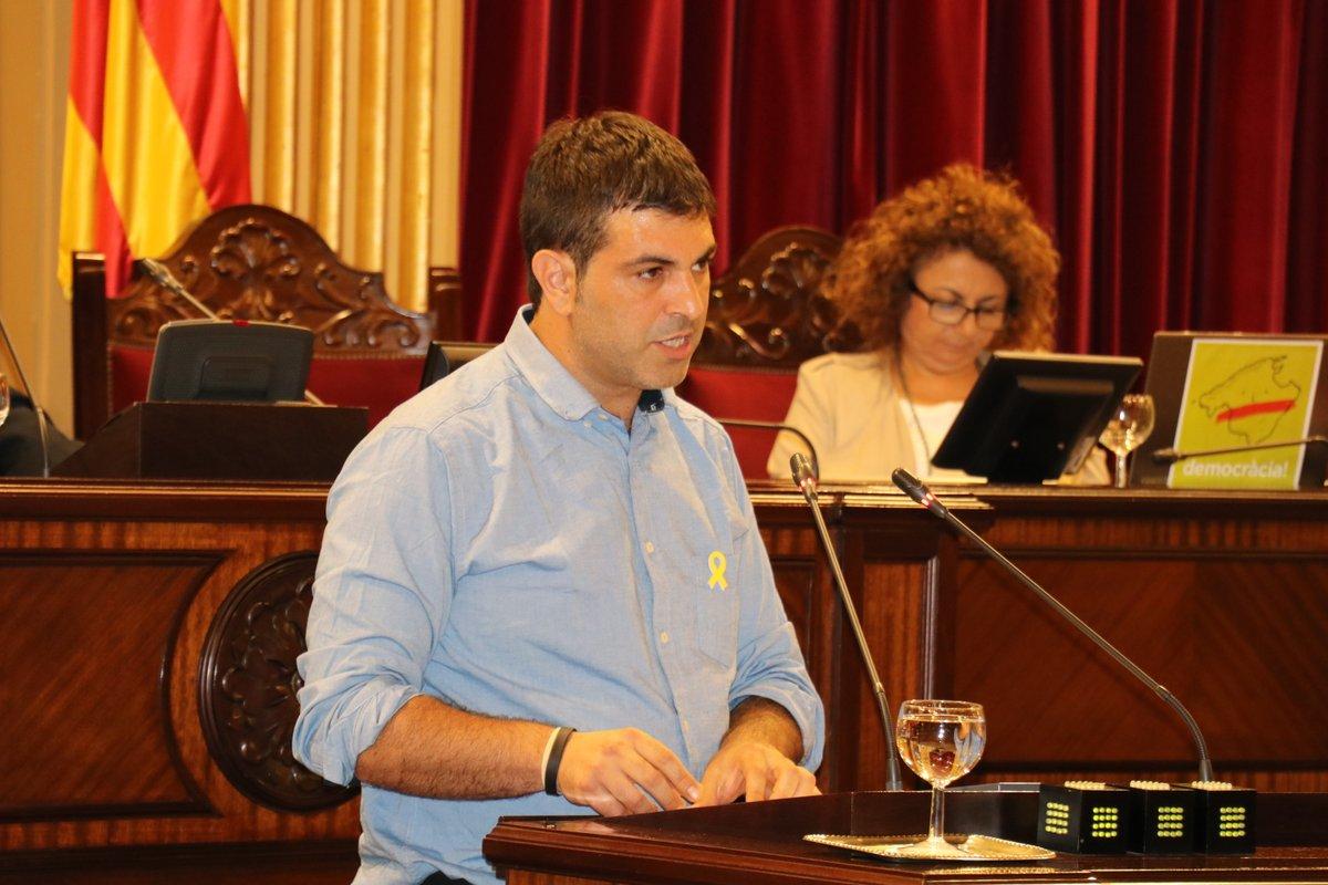 Josep Ferrà, del Grup Parlamentari MÉS per Mallorca