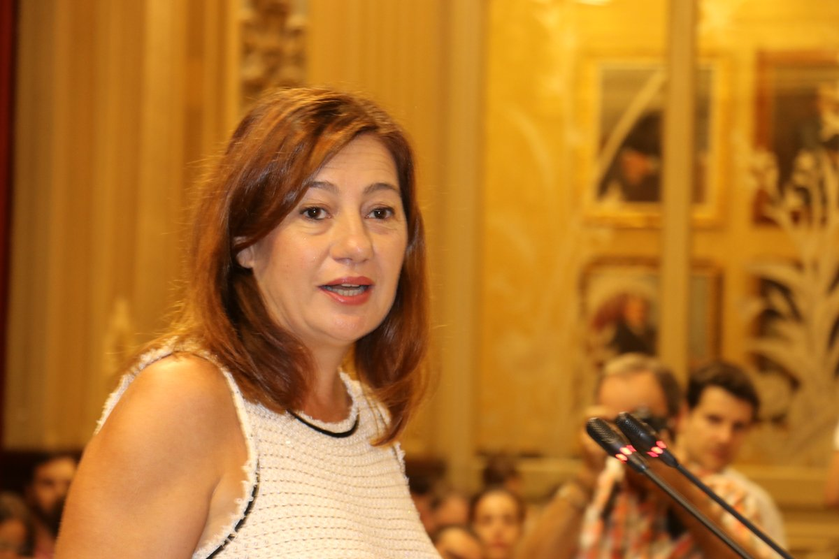 Francina Armengol, presidenta del Govern de les Illes Balears