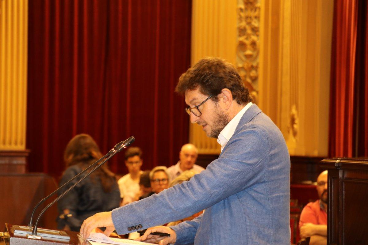 Alberto Jarabo, del Grup Parlamentari Podem Illes Balears